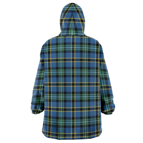 Image of Weir Ancient Snug Hoodie - Unisex Tartan Plaid Back