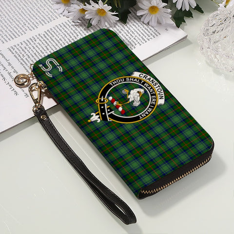 Image of Cranstoun Crest Tartan Zipper Wallet™