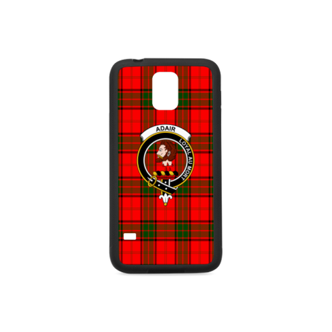 Adair Tartan Clan Badge Rubber Phone Case TH8