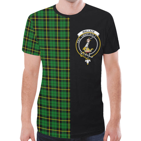 Wallace Hunting - Green T-shirt Half In Me | scottishclans.co