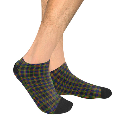Image of Clelland Modern Tartan Ankle Socks | scottishclans.co