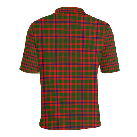 Skene Modern Tartan Clan Badge Polo Shirt HJ4