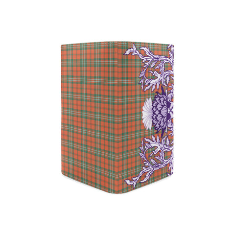 SCOTT ANCIENT Tartan Wallet Women's Leather Thistle A91