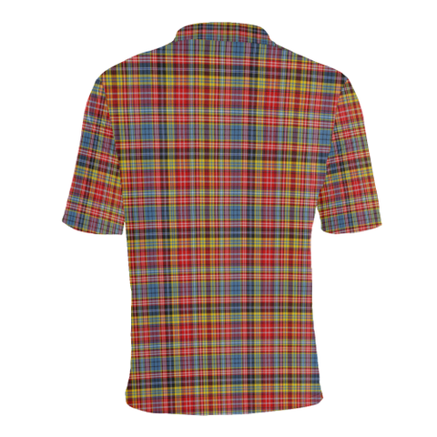 Drummond of Strathallan  Tartan Polo Shirt HJ4