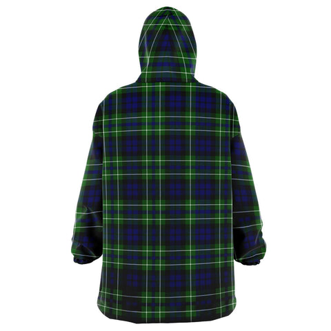 MacNeil of Colonsay Modern Snug Hoodie - Unisex Tartan Plaid Back