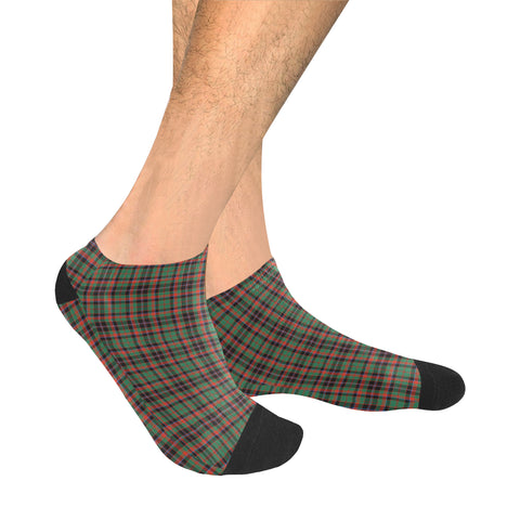Cumming Hunting Ancient Tartan Ankle Socks | scottishclans.co