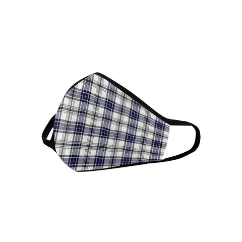 Hannay Modern Tartan Mouth Mask With Filter | scottishclans.co