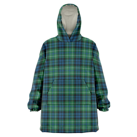 MacNeill of Colonsay Ancient Snug Hoodie - Unisex Tartan Plaid Front