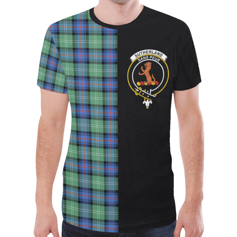 Sutherland Old Ancient T-shirt Half In Me | scottishclans.co