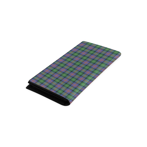 Logan Ancient Tartan Wallet Women's Leather Thistle A91