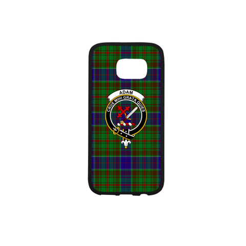 Adam Tartan Clan Badge Rubber Phone Case TH8