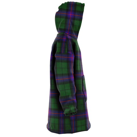 Armstrong Modern Snug Hoodie - Unisex Tartan Plaid Right