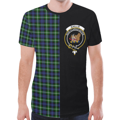 Image of Baillie Modern T-shirt Half In Me | scottishclans.co