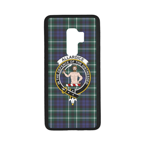 Allardice Tartan Clan Badge Rubber Phone Case TH8