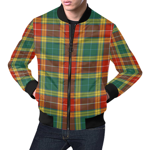 Image of Buchanan Old Sett Tartan Bomber Jacket | Scottish Jacket | Scotland Clothing