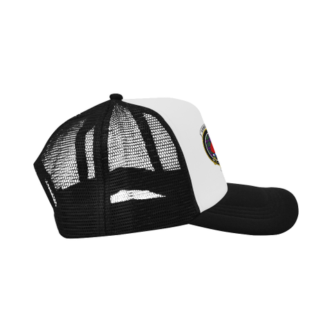 Image of Armstrong Tartan Trucker Hat