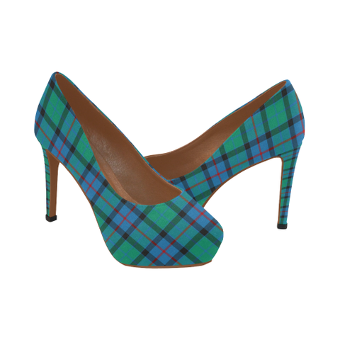 Flower Of Scotland Tartan Heels
