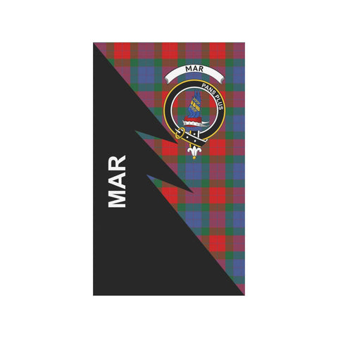 "Image of Mar Tartan Garden Flag - Flash Style 36"" x 60"""