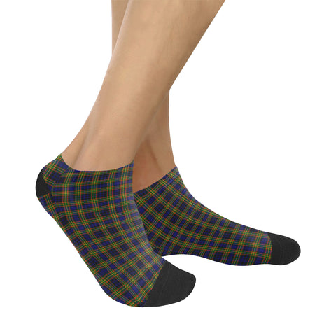 Image of Clelland Modern Tartan Ankle Socks K7