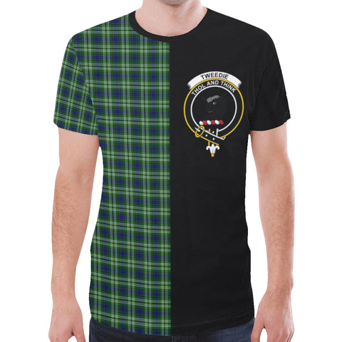 Image of Tweedside District T-shirt Half In Me | scottishclans.co