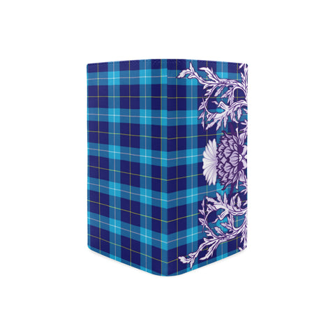 McKerrell Tartan Wallet Women's Leather Thistle A91