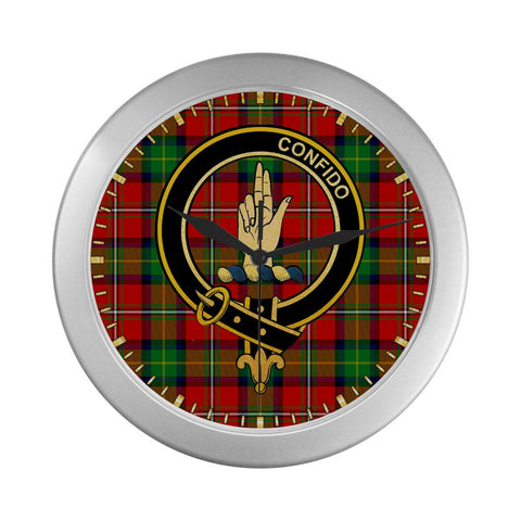 Boyd  Clan Tartan Wall Clock | Tartan Home Decor | Hot Sale