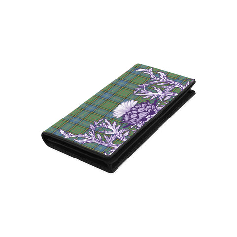 Image of MacMillan Hunting Ancient Tartan Wallet Women's Leather Wallet A91 | Over 500 Tartan