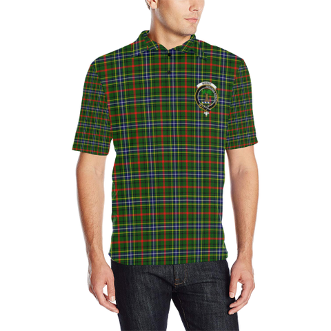 Bisset Tartan Clan Badge Polo Shirt