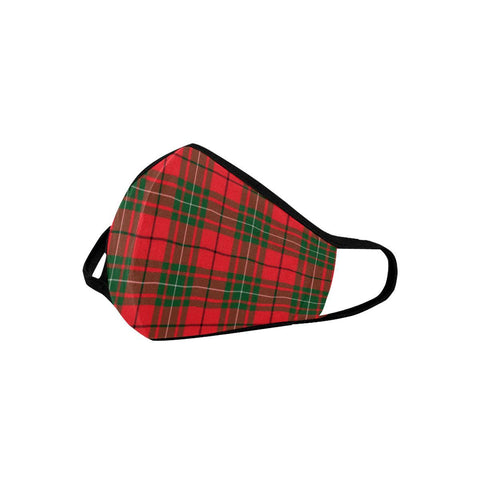MacAulay Modern Tartan Mouth Mask With Filter | scottishclans.co