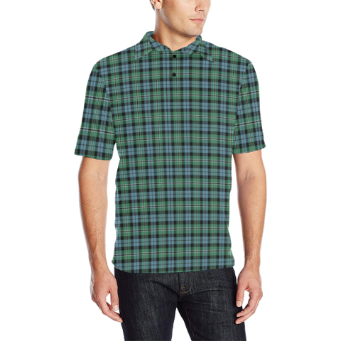 Image of Melville Tartan Polo Shirt