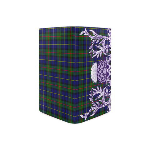Image of MacLeod of Harris Modern Tartan Wallet Women's Leather Thistle A91