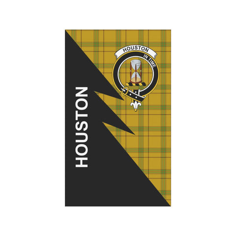 "Houston Tartan Garden Flag - Flash Style 36"" x 60"""
