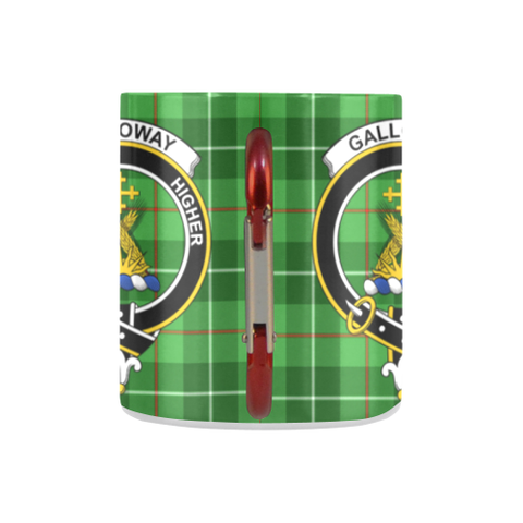 Image of Galloway District Tartan Mug Classic Insulated - Clan Badge K7