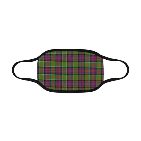 Image of MacDonald of Clanranald Tartan Mouth Mask Inner Pocket K6 (Combo)