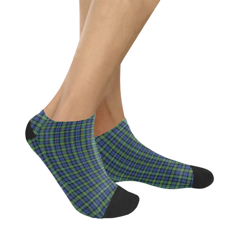 Campbell Argyll Ancient Tartan Ankle Socks K7
