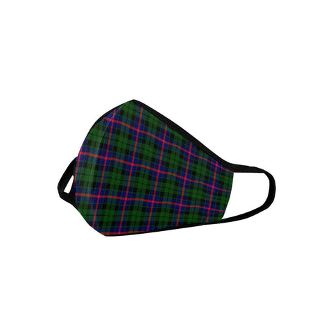 Morrison Modern Tartan Mouth Mask With Filter | scottishclans.co