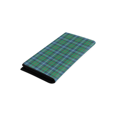 Urquhart Ancient Tartan Wallet Women's Leather Thistle A91