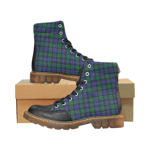 Blackwatch Modern Tartan Apache Boots | Tartan Footwear | Over 500 Tartans & 300 Clans