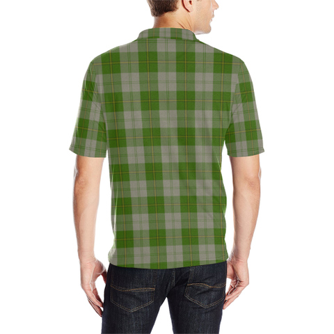 Image of Cunningham Dress Green Dancers  Tartan Polo Shirt HJ4