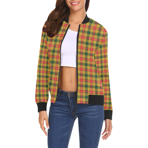 Image of Baxter Tartan Bomber Jacket | Scottish Jacket | Scotland Clothing