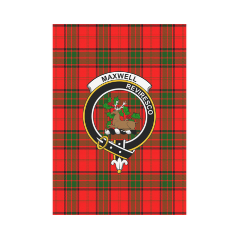 Maxwell Modern Tartan Flag Clan Badge | Scottishclans.co