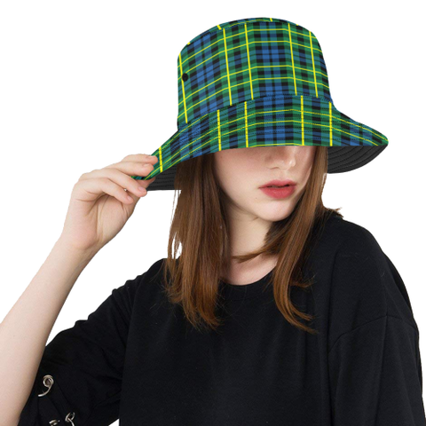 Campbell Of Breadalbane Ancient Tartan Bucket Hat for Women and Men | Scottishclans.co