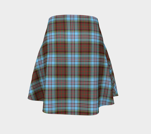 Tartan Flared Skirt - Anderson Ancient
