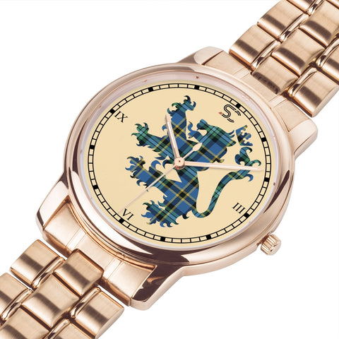 Weir Ancient Tartan Watch Lion Scottish Vesion K7