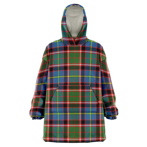 Stirling & Bannockburn District Snug Hoodie - Unisex Tartan Plaid Front