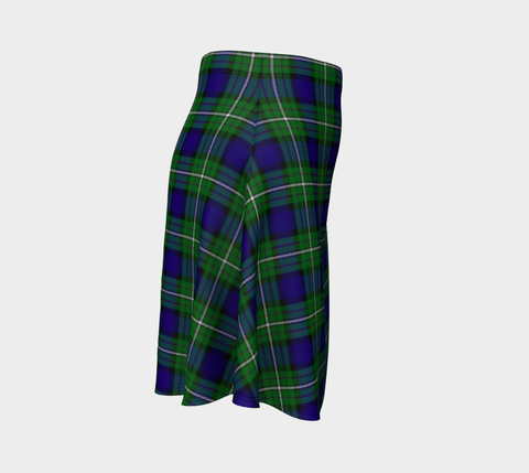 Image of Tartan Flared Skirt - Alexander A9