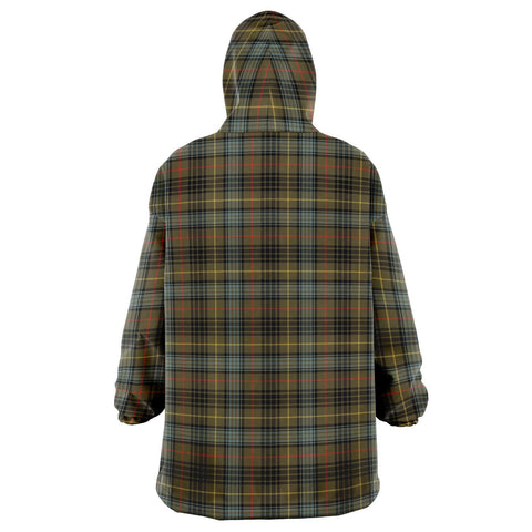 Stewart Hunting Weathered Snug Hoodie - Unisex Tartan Plaid Back