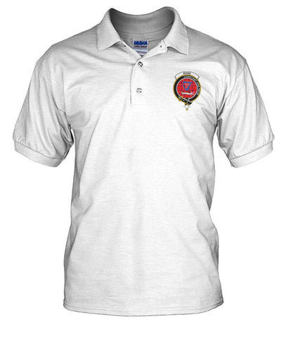 Rose Tartan Polo Shirts for Men and Women