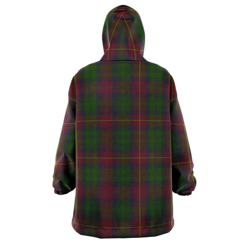Cairns Snug Hoodie - Unisex Tartan Plaid Back