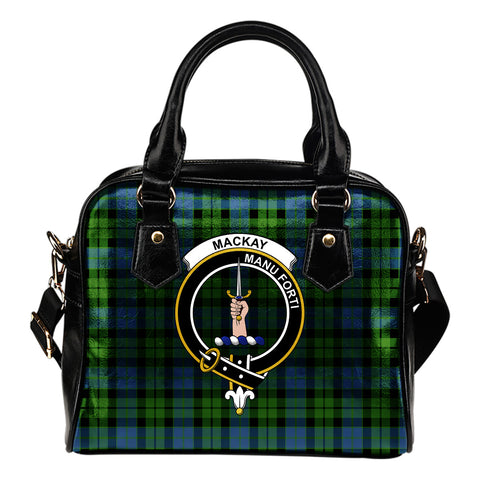 MacKay Modern Tartan Clan Shoulder Handbag | Special Custom Design